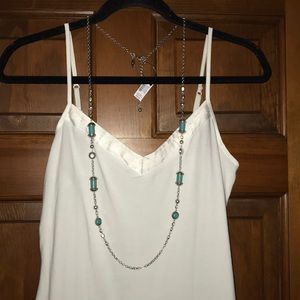 Chico's Kate Single-Strand Necklace NWT
